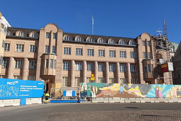 Paarautatieaseman Hotellityomaa Helsinki Ncc